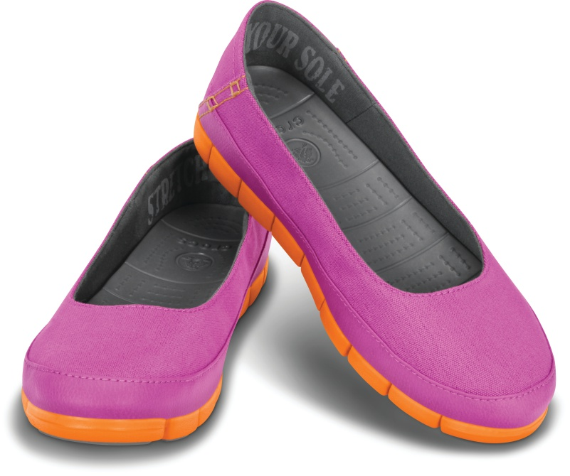 Crocs_Stretch Sole_Vibrant Violet Orange 1_3790