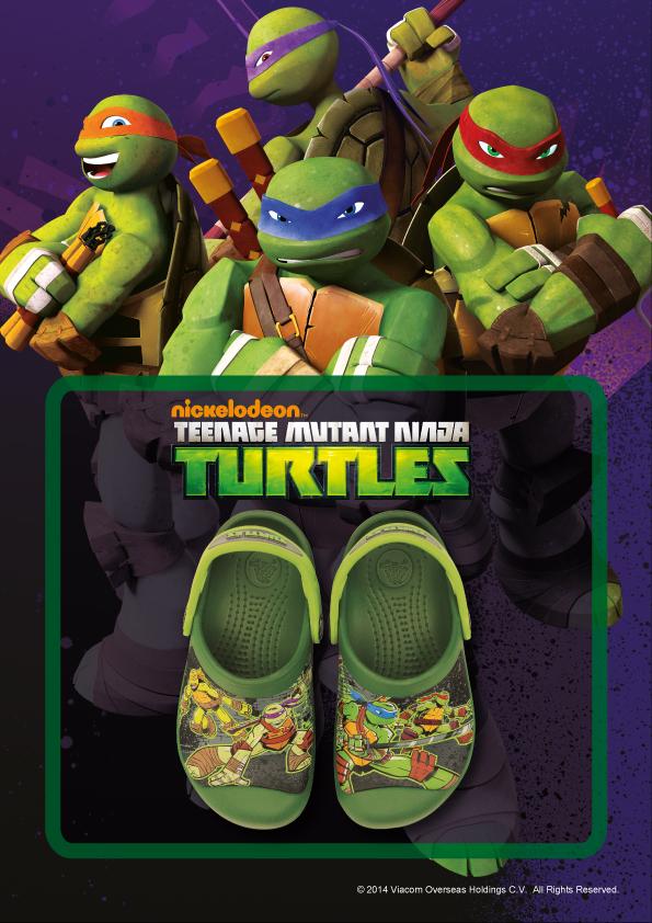 Crocs Teenage Mutant Ninja Turtles