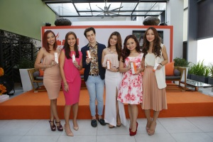 Daylong sunscreen ambassadors with brand manager Jon Lee