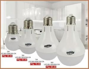 CDR LED bulbs