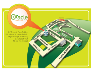 Oracle-Map