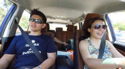 Angel & Uly Toyotaroadtrek_palawan