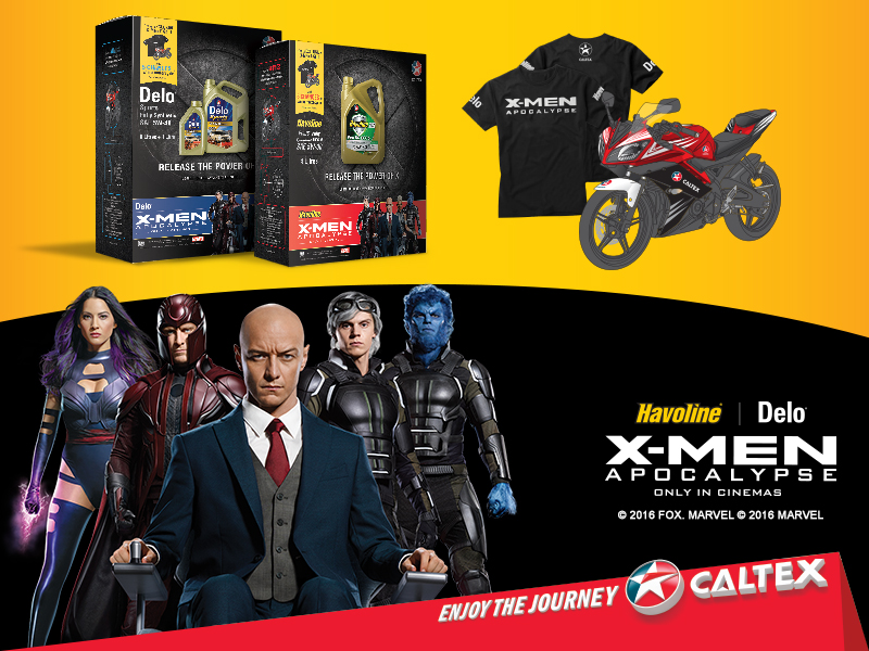 Caltex_X-Men fans experience the Power of X with Caltex_Press Kit Photo