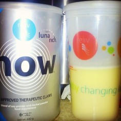 Mama Ellen's first Reliv Now Shake